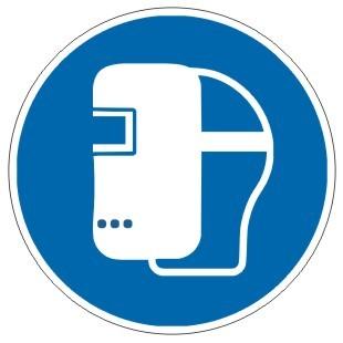 Gebotszeichen-3-M019-Schweißmaske benutzen-DIN EN ISO 7010