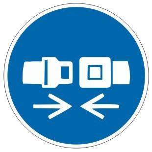 Gebotszeichen-3-M020-Sicherheitsgurt-Rückhaltesystem benutzen-DIN EN ISO 7010