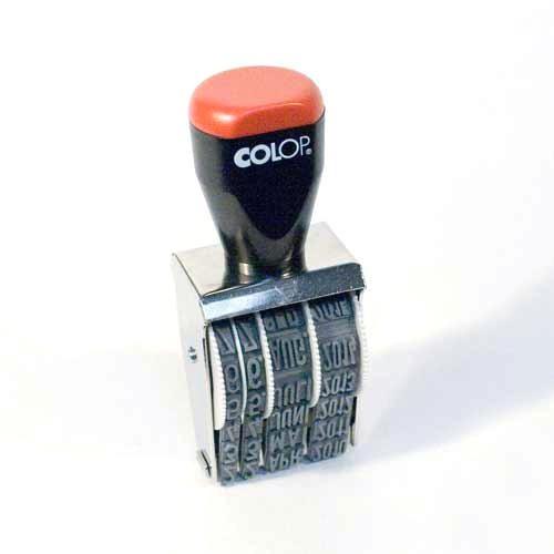 9mm Datumstempel Handstempel